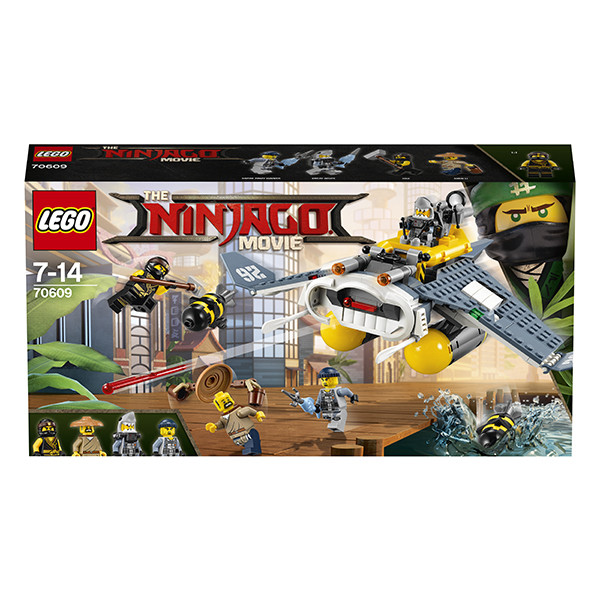 Конструктор LEGO Ninjago Бомбардировщик Морской  дьявол
