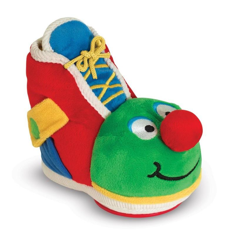 Развивающий ботинок с зеркалом