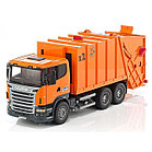 Мусоровоз Scania (цвет оранжевый)