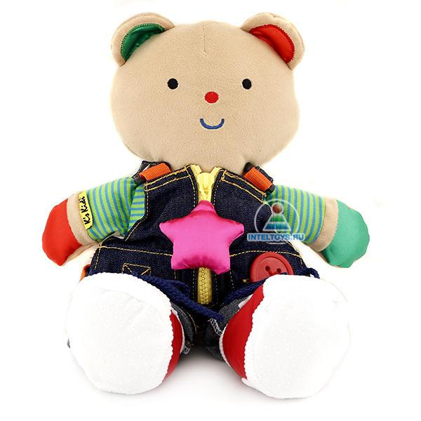 Медвежонок Teddy ( с одеждой)