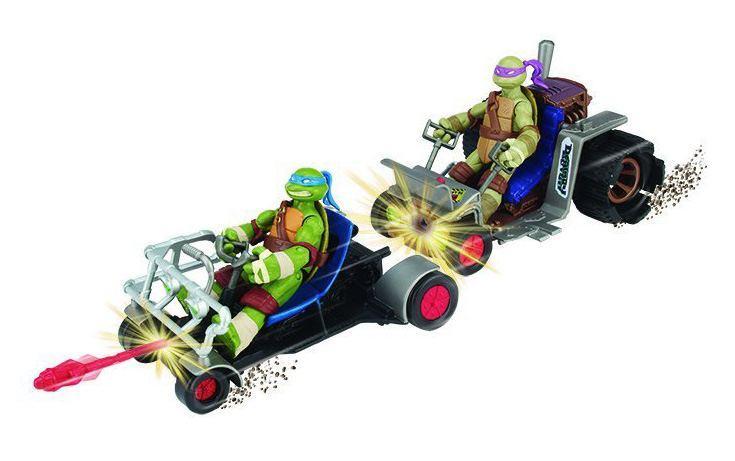 Игрушка Turtles Патрульные Багги (Лео и Дон)