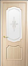 """Дверь """"Рока"""" со стеклом ясень"""