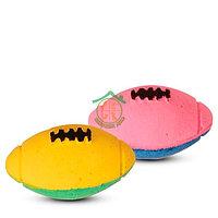 ТРИОЛ Мяч для регби двухцветный д/кошек
