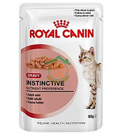 INSTINCTIVE GRAVY 100 g в соусе д/взрослых кошек