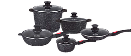 Набор посуды Nice Cooker Classic Series CAK-10T 10 предметов