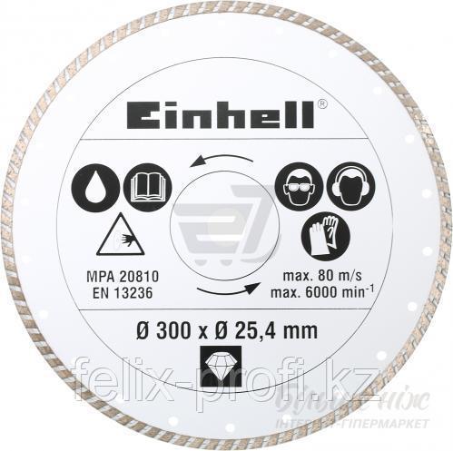 Алмазный диск Einhell  300 * 25,4 мм (по камню и плитке)