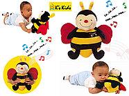 Пчела музыкальная (поет и хихикает)