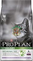 PRO PLAN STERILIZED с индейкой 400 гр. корм для кошек