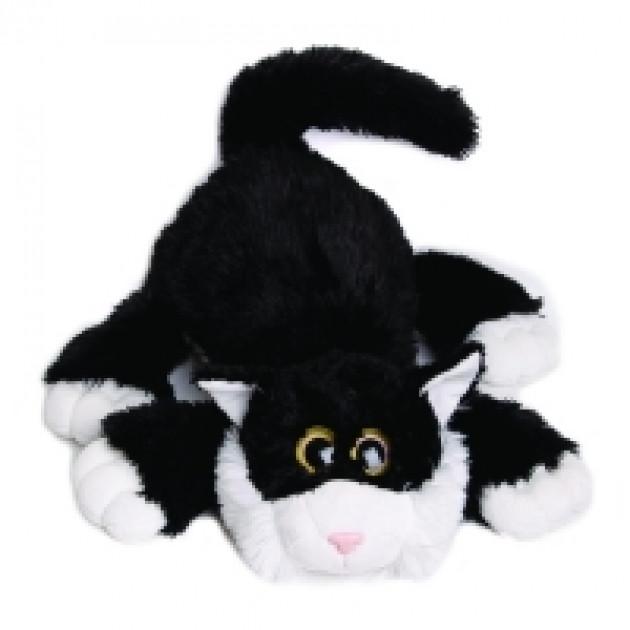 """Котик """"Шалунишка"""" 3 цвета в ассортименте,  озвученный 45 см"""