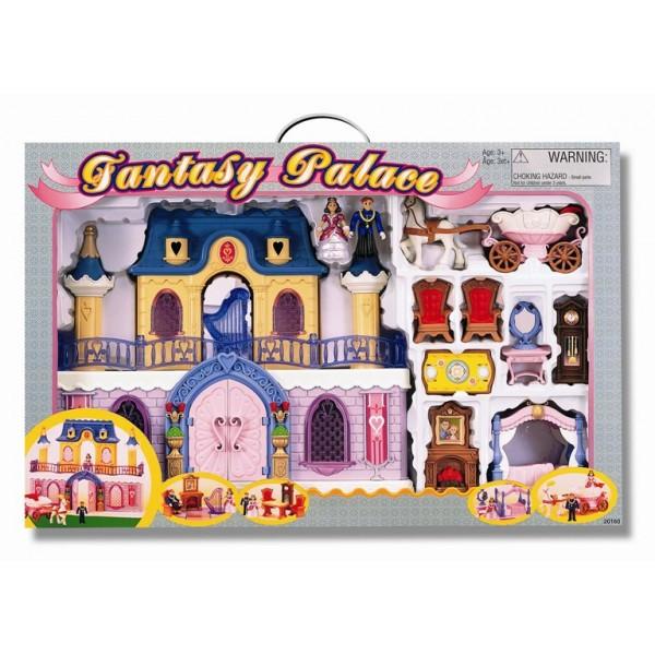 "Набор "" Fantasy Palace "" дворец с каретой и предметами"