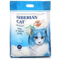 Сибирская кошка 16л Элитный силикагель наполнитель для туалета