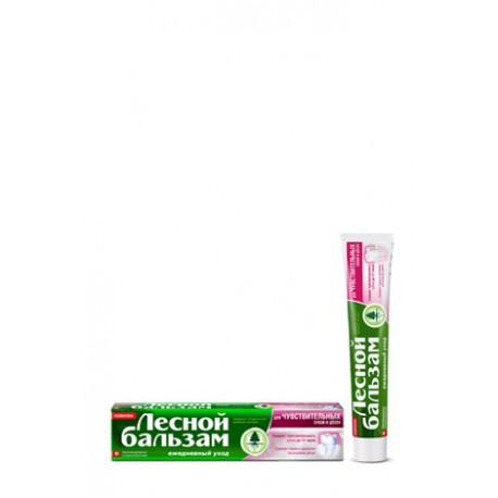 Паста Лесной бальзам для чувствительных  зубов и дёсен 75 мл
