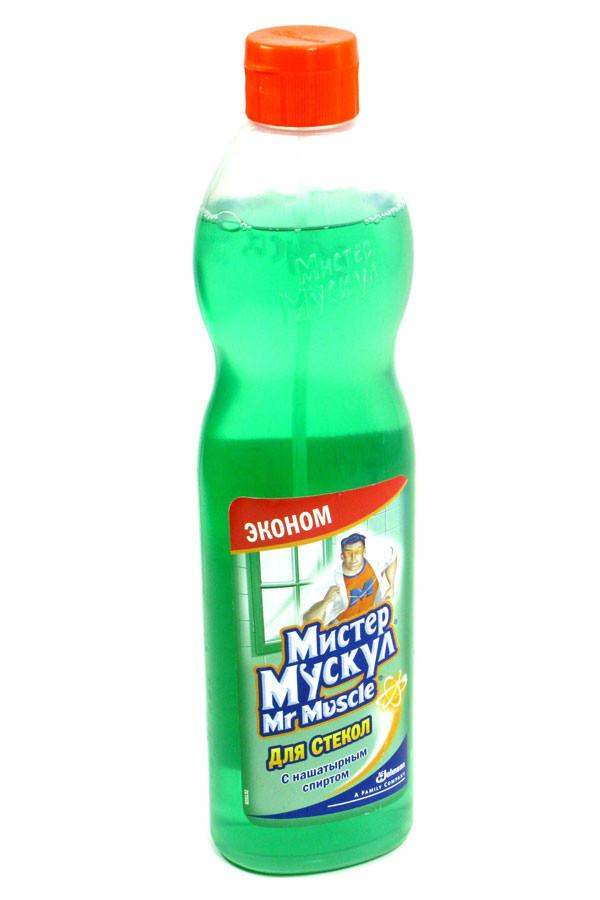 Mr. Muscle для стекол (зеленый) Утренняя Роса  500мл