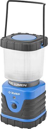 Светильник ЗУБР светодиодный кемпинговый, 3 режима, 3*D, 8Вт(300Лм)  , фото 2