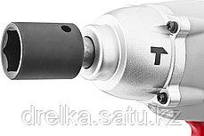 Гайковерт ударный аккумуляторный ЗУБР ЗГУА-18-Ли К, Li-Ion АКБ, БЗУ 1 час, индикатор остаточ заряда, 180Нм., фото 2