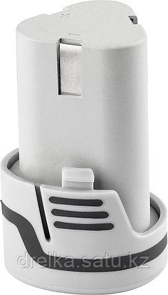 Аккумулятор для шуруповерта ЗУБР ЗАКБ-12-Ли, литиевый, 1,5 А/ч, 12 В., фото 2