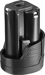 Аккумулятор для шуруповерта ЗУБР АКБ-12-Ли 15М1, МАСТЕР АКБ Li-Ion, тип М1, 1,5 Ач, 12 В.