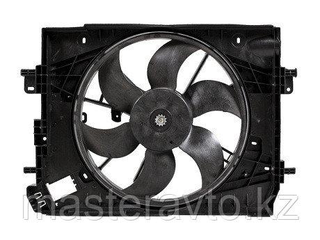 Диффузор радиатора в сборе RENAULT LOGAN / SANDERO 14- / KAPTUR 16- / DUSTER 13-NEW