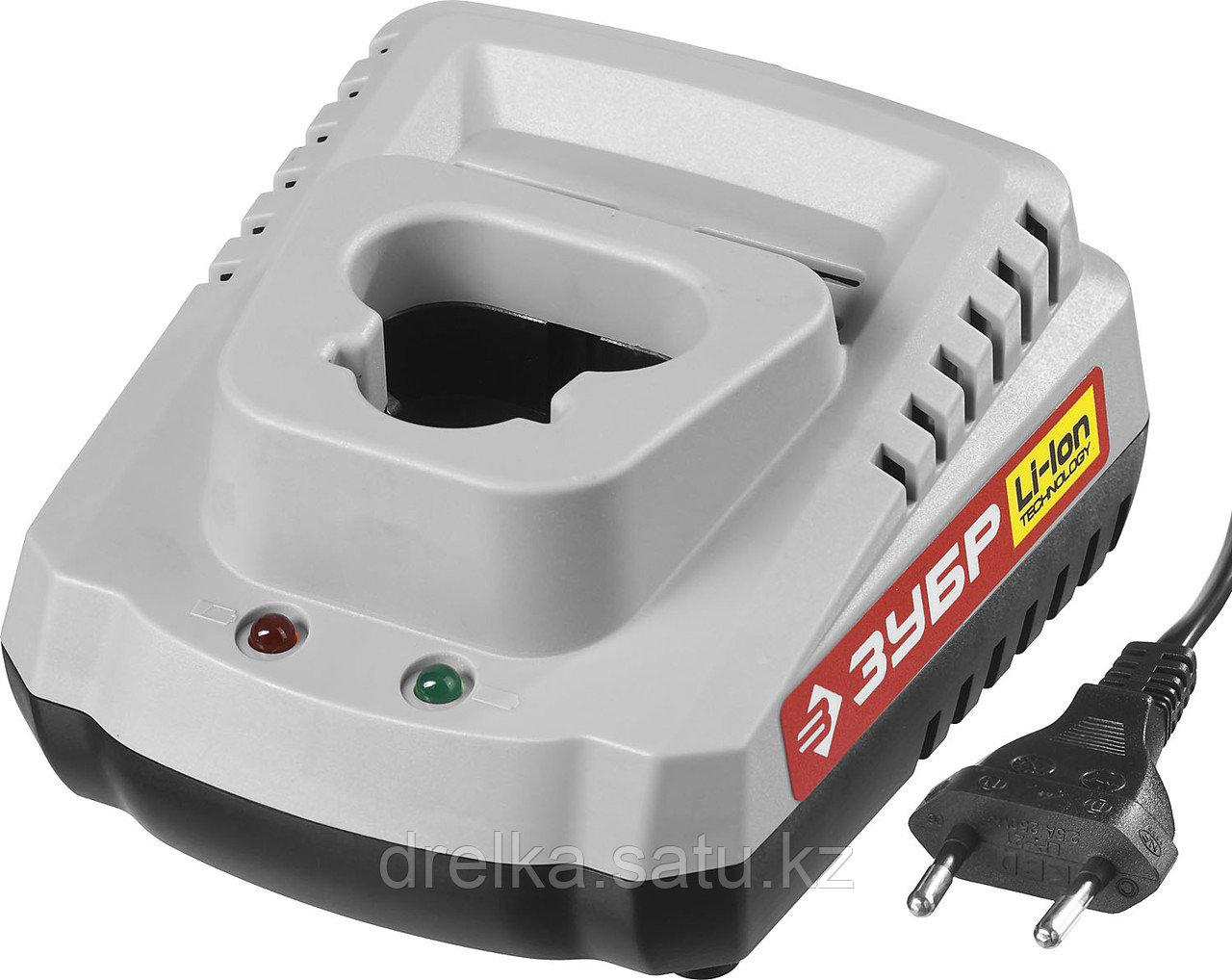Зарядное устройство для аккумулятора, ЗУБР БЗУ-10.8-12 М1, МАСТЕР Импульс универсальное, интеллектуальное.