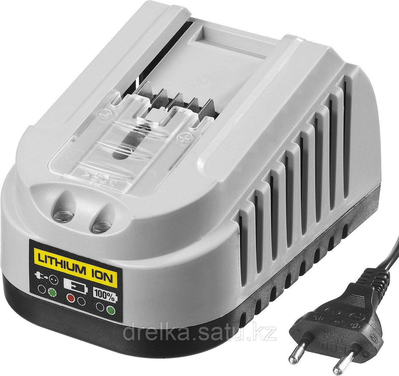 Зарядное устройство для аккумулятора, ЗУБР БЗУ-14.4-18 М4, МАСТЕР Импульс универсальное, интеллектуальное