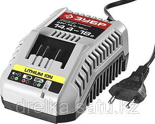 Зарядное устройство для аккумулятора, ЗУБР БЗУ-14.4-18 М1, МАСТЕР Импульс универсальное, интеллектуальное, фото 2