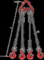 Строп канатный 4СК паук на кран г/п от 0,8 до 40 тн