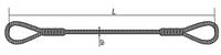 Стропы чалки канатные (тросовые) петлевые УСК1 (СКП)