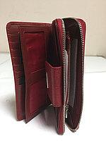 Женский кожаный кошелек Tony Bellucci.Высота 10 см, длина 19 см, ширина 3 см., фото 1