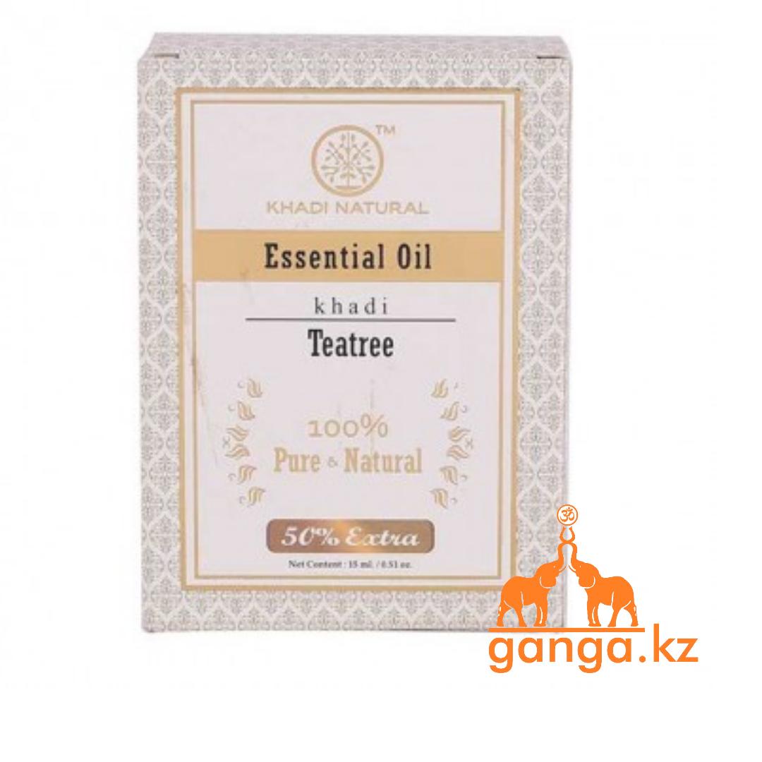 Натуральное эфирное масло Чайного дерева (Essential Oil Tea tree KHADI), 15 мл