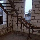 Изготовление лестничного марша из металла, фото 2