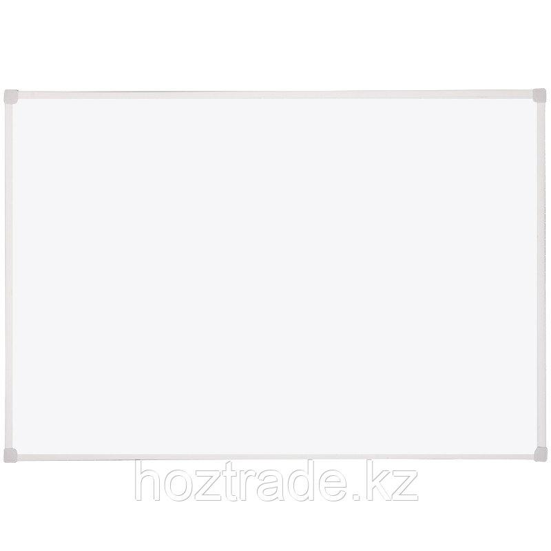 Доска магнитно-маркерная OfficeSpace 60х90, рамка ПВХ, полочка