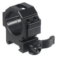UTG (Leapers) Кольца быстросъемные низкие UTG Leapers 30 мм на Picatinny (RQ2W3104)