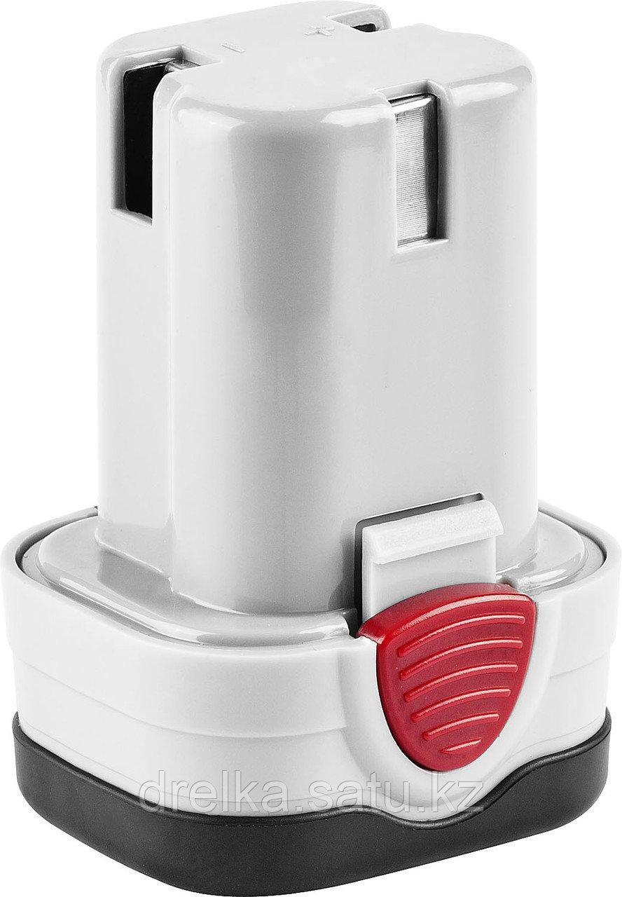 Аккумулятор для шуруповерта ЗУБР ЗАКБ-10.8-Ли, литиевый, 1,5 А/ч, 10,8 В