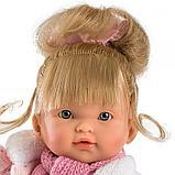 LLORENS: Кукла Валерия 28см, блондинка в розовой курточке, фото 3