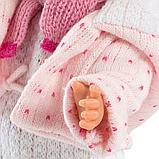 LLORENS: Кукла Валерия 28см, блондинка в розовой курточке, фото 4