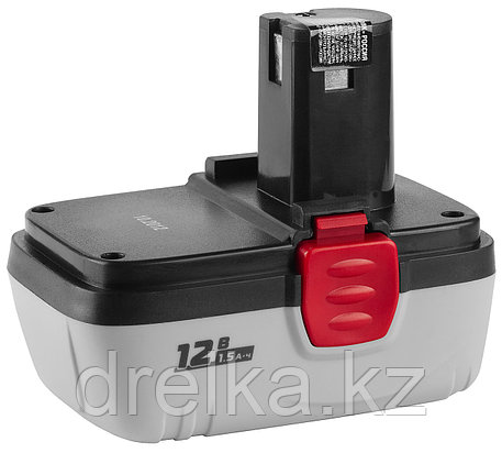 Аккумулятор для шуруповерта ЗУБР ЗАКБ-12 N15, 1,5 А/ч, 12,0 В, фото 2