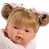LLORENS: Кукла Жоэль 38см, шатенка в розовой курточке 38326, фото 3