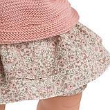 LLORENS: Кукла Жоэль 38см, шатенка в розовой курточке 38326, фото 4