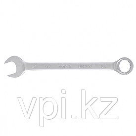 Рожково-накидной ключ, хромированный,  24мм De&Li