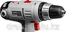 Шуруповерт сетевой ЗУБР ЗСШ-300-2, максимальный диаметр крепежа 6 мм, 0-400/0-1400 об, БЗП 10 мм, 300 Вт, фото 2