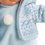 LLORENS: Кукла мылыш 30см в голубом костюме, фото 3