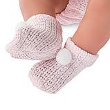 LLORENS: Кукла малыш Тино 43см, в розовой курточке 84312, фото 4