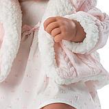 LLORENS: Кукла малыш Тино 43см, в розовой курточке 84312, фото 5