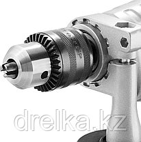 Дрель ударная электрическая ЗУБР ЗДУ-850 ЭРММ2, реверс, мет корпус редуктора, фото 2