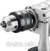 Дрель ударная электрическая ЗУБР ЗДУ-850 ЭРМКМ2, реверс, мет корпус редуктора, фото 3