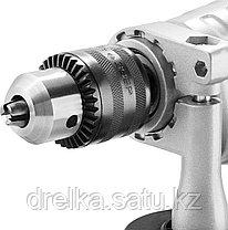Дрель ударная электрическая ЗУБР ЗДУ-1100-2 ЭРММ2, 2 скоростная, металлический корпус редуктора, патрон 13 мм., фото 3