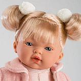 LLORENS: Кукла малышка Ариана 33 см, блондинка в розовом пальто 33112, фото 2