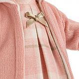 LLORENS: Кукла малышка Ариана 33 см, блондинка в розовом пальто 33112, фото 4