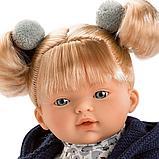 LLORENS: Кукла малышка Изабела 33см, блондинка в темно-синей курточке, фото 2