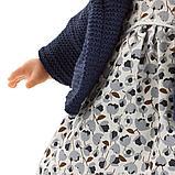 LLORENS: Кукла малышка Изабела 33см, блондинка в темно-синей курточке, фото 4